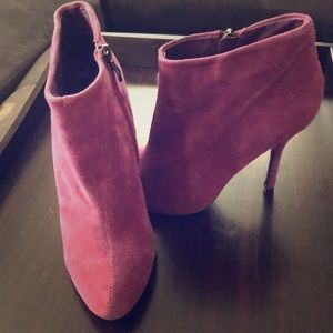 Aldo Purple Dolly Suede boot